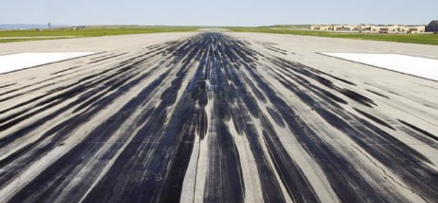 Getting Rubber Off the  Road—or the Runway